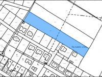 Zobrazení v katastrální mapě - Prodej pozemku 6088 m², Český Brod