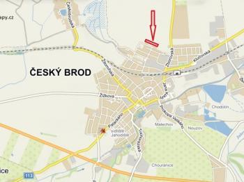 Poloha v obci - Prodej pozemku 6088 m², Český Brod