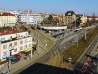 Metro A a tramvajová zastávka Strašnická, 300 m od domu - Prodej bytu 2+kk v osobním vlastnictví 43 m², Praha 10 - Strašnice