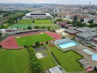 Venkovní i kryté bazény Slavia - Eden, 1 km od domu - Prodej bytu 2+kk v osobním vlastnictví 43 m², Praha 10 - Strašnice