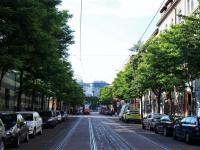 Okolí domu - nedaleká ulice Starostrašnická - Prodej bytu 2+kk v osobním vlastnictví 43 m², Praha 10 - Strašnice