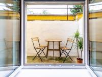 Výhled z okna - Prodej bytu 2+kk v osobním vlastnictví 43 m², Praha 10 - Strašnice