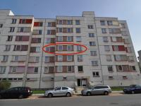 Umístění bytu (západ) - vchod do domu - Prodej bytu 3+1 v osobním vlastnictví 82 m², Písek