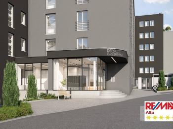 Prodej komerčního prostoru (obchodní) v osobním vlastnictví, Praha 2 - Vinohrady