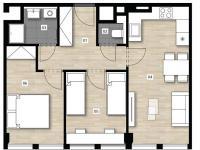 3+kk 9402 - Prodej bytu 3+kk v osobním vlastnictví 54 m², Praha 2 - Vinohrady