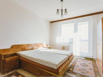 Ložnice - Prodej bytu 2+1 v družstevním vlastnictví 59 m², Brno