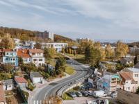 Výhled z lodžie - Prodej bytu 2+1 v družstevním vlastnictví 59 m², Brno