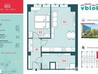 Prodej bytu 2+kk v osobním vlastnictví 54 m², Praha 5 - Jinonice