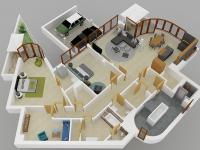 Prodej bytu 4+kk v osobním vlastnictví 193 m², Praha 4 - Modřany