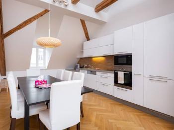 Pronájem bytu 3+kk v osobním vlastnictví, 108 m2, Praha 1 - Nové Město