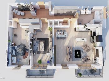 Prodej bytu 3+kk v osobním vlastnictví, 152 m2, Praha 6 - Ruzyně