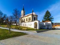 Kostel v Mníšku pod Brdy - Prodej bytu 2+kk v osobním vlastnictví 51 m², Mníšek pod Brdy