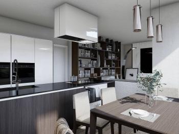 Prodej bytu 2+kk v osobním vlastnictví, 56 m2, Praha 5 - Smíchov