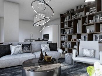 Prodej bytu 3+kk v osobním vlastnictví, 74 m2, Praha 5 - Smíchov