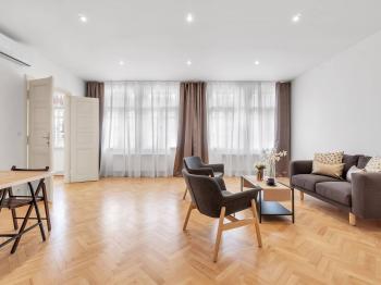 Prodej bytu 4+kk v osobním vlastnictví, 121 m2, Praha 2 - Nové Město
