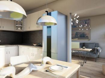 Prodej bytu 3+1 v družstevním vlastnictví, 67 m2, Praha 4 - Braník