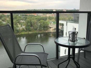 Pronájem bytu 1+kk v osobním vlastnictví, 45 m2, Praha 7 - Holešovice