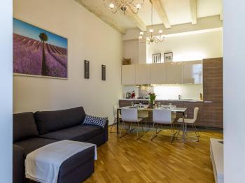 Pronájem bytu 3+kk v osobním vlastnictví, 62 m2, Praha 5 - Smíchov
