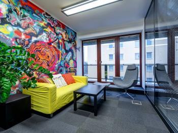 Pronájem komerčního prostoru (kanceláře) v osobním vlastnictví, 402 m2, Praha 4 - Krč
