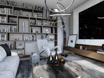 Prodej bytu 2+kk v osobním vlastnictví, 47 m2, Praha 5 - Smíchov