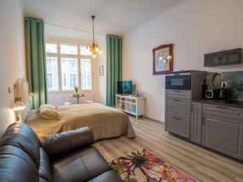 Pronájem bytu 1+kk v osobním vlastnictví, 35 m2, Praha 5 - Smíchov