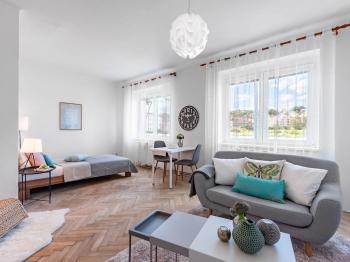 Prodej bytu 1+kk v osobním vlastnictví, 29 m2, Praha 9 - Vysočany