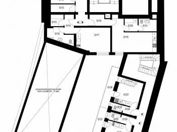 Prodej bytu 2+kk v osobním vlastnictví, 44 m2, Praha 5 - Smíchov