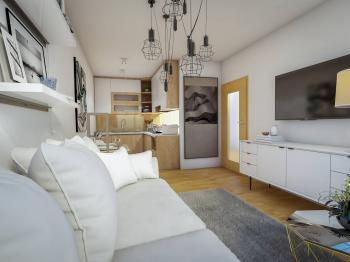 Prodej bytu 2+kk v družstevním vlastnictví, 38 m2, Praha 9 - Prosek