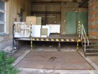 zvedací rampa (Pronájem skladovacích prostor 343 m², Jeseník)