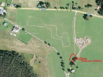 Prodej pozemku 1200 m², Zlaté Hory