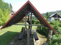 přístřešek na zahradě - Prodej domu v osobním vlastnictví 260 m², Petrovice