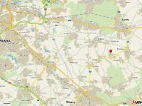 Nedaleko Prahy (Prodej pozemku 1536 m², Zlatá)