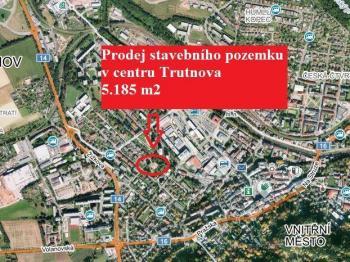 Prodej pozemku 5185 m², Trutnov