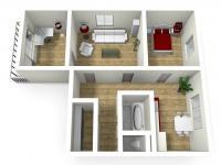 Prodej bytu 3+1 v osobním vlastnictví, 80 m2, Chrudim