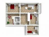 Prodej bytu 4+1 v družstevním vlastnictví 95 m², Hradec Králové