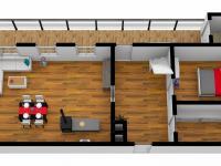 1.podlaží (Prodej chaty / chalupy 70 m², Stárkov)