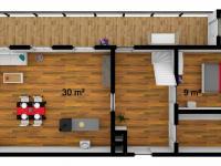 1. podlaží (Prodej chaty / chalupy 70 m², Stárkov)