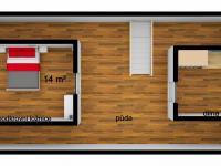 podkroví (Prodej chaty / chalupy 70 m², Stárkov)