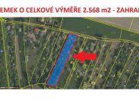 Prodej pozemku 2568 m², Chlumec nad Cidlinou