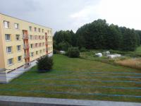 pohled z balkónu (Prodej bytu 4+1 v osobním vlastnictví 82 m², Týniště nad Orlicí)