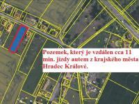 Prodej pozemku 1097 m², Týniště nad Orlicí