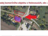 Prodej komerčního objektu 220 m², Holovousy