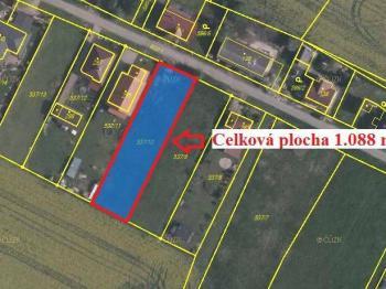 Prodej pozemku 633 m², Opočno