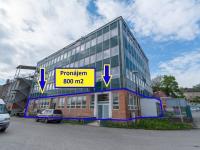 Pronájem komerčního prostoru (skladovací) v osobním vlastnictví, 800 m2, Vysoké Mýto