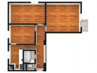 Prodej bytu 3+1 v družstevním vlastnictví 69 m², Hradec Králové