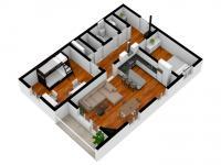 Prodej bytu 3+kk v osobním vlastnictví 78 m², Smidary