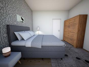 vizualizace bytu - Prodej bytu 3+1 v osobním vlastnictví 69 m², Hradec Králové
