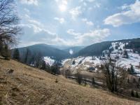 výhled - Prodej pozemku 3259 m², Pec pod Sněžkou