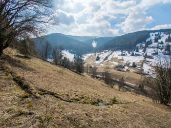 pozemek a výhled - Prodej pozemku 3259 m², Pec pod Sněžkou
