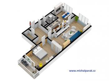 Prodej bytu 3+1 v osobním vlastnictví 60 m², Hradec Králové